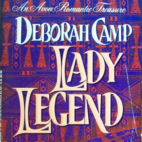 Lady Legend audiobook cover art