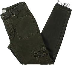 Free People Womens Denim Raw Hem Skinny Jeans