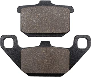 Cyleto Front and Rear Brake Pads for Kawasaki ZX600 ZX 600 Ninja 1985 1986 1987 / ZX750 1983 1984 1985 / ZX 750 Turbo 1984 1985