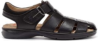 Fluchos | Sandalia de Hombre | Dozer F0533 Salvate Libano | Sandalia de Piel | Cierre con Velcro | Piso PU