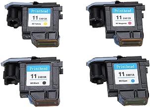 Eboxer Cabezal de Impresión para HP Officejet 9110/9120/9130,Pro k850 / 850dn, Designjet 500ps, Designjet Copiadora cc800ps para HP 500 510 800 Series(Negro Kit)