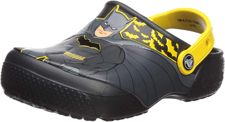 Crocs Womens Boys and Girls Iconic Batman Clog Clog