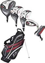 Wilson Golf- Deep Red Tour Complete Set with Stand Bag