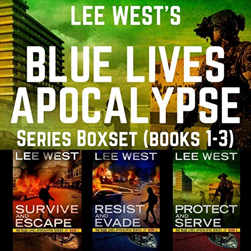 The Blue Lives Apocalypse Boxset (Books 1-3) audiobook cover art