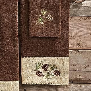 BLACK FOREST DECOR Pine Haven Cabin Hand Towel