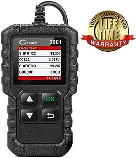 LAUNCH CReader 3001 OBD2 Scanner OBD II EOBD Car Fault Code Reader Professional Automotive Diagnostic Tool,DTCs Check Engine Light Scan Tool,Support O2 Sensor,Evap System Test