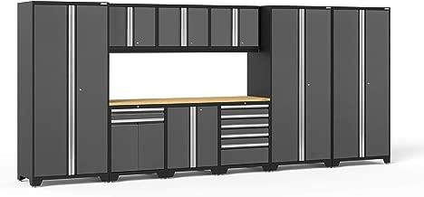 NewAge Products Pro 3.0 Gray 10 Piece Set, Garage Cabinets, 52151