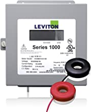 Leviton 1K240-2SW Series 1000 120/240V 200A 1P3W Indoor Kit with 2 Solid Core CTs