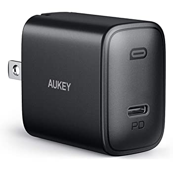 [Upgraded] iPhone Fast Charger, AUKEY Swift 20W USB C Charger for iPhone 12/12 Mini/12 Pro Max, Foldable Plug &Power Delivery 3.0, PD Charger Adapter USB C Wall Charger for iPad Pro/AirPods Pro/Switch