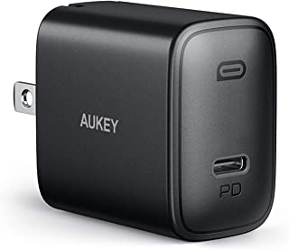 AUKEY Swift iPhone Fast Charger, 18W USB C Charger Compatible with iPhone 12/12 Mini/12 Pro Max, Foldable Plug &Power Deli...