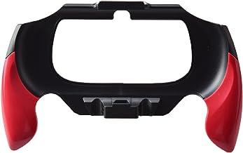 Gam3Gear Plastic Hand Grip Handle Holder Case Bracket for PSV Vita 2000 Red