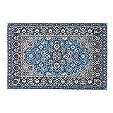 1 alfombra de casa de muñecas Mini manta turca alfombra de área de casa de muñecas DIY decoración de escena de casa de muñecas muebles de piso de casa de muñecas alfombras tejidas
