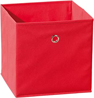 Links 99200280 Winny Bac Rangement Pliable Rouge 31,5 x 31,5 x 31 cm