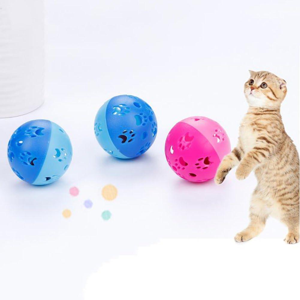 yanbird 10Pcs Hollow Ball Cat Max 76% OFF Scratch National products Kitten Interactive Teaser