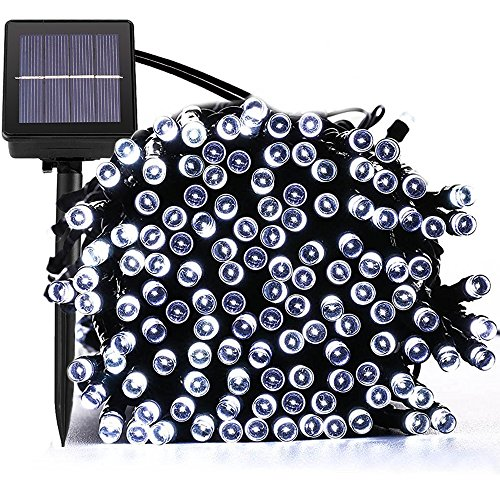 Kalokelvin Luces LED Solares para Exteriores 22 Metros 200 L