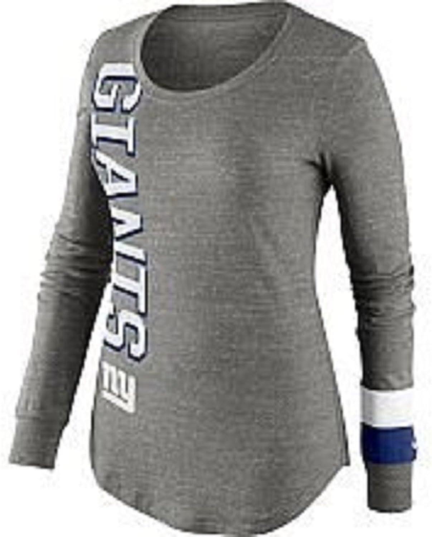 NIKE Womens Giants Long Sleeve Top Go Long TopXLarge