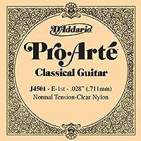 CUERDA SUETA GUITARRA CLASICA - Dエaddario (J/4501) Pro/Arte Normal (Minimo 5 Cuerdas) 1ェ