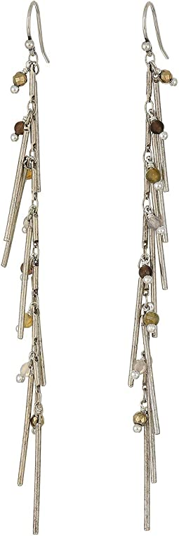 Dangle Bar Chain Earrings