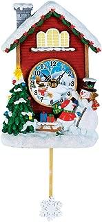 Best snowman wall clock Reviews