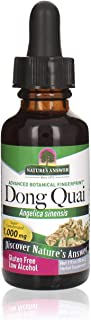 Nature's Answer Dong Quai Root with Organic Alcohol, 1-Fluid Ounce | Mesopause Support | Female Hormonal Ba...