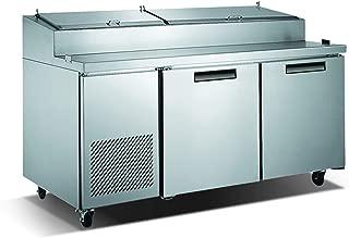 Vortex Refrigeration Commercial 2 Door Pizza Prep Table - 67