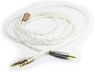 NewFantasia HiFi Cable 2.5mm Trrs Balanced Male to Dual 3.5mm Connector Compatible with Hifiman Sundara, Ananda, Arya Head...