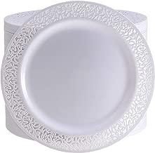 Best lace plastic dinner plates Reviews