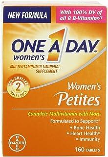 One A Day Women's Petites Multivitamin,Supplement with Vitamin A, Vitamin C, Vitamin D, Vitamin E and Zinc for Immune Heal...