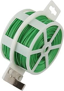 Shintop 328 Feet Garden Plant Twist Tie with Cutter for Gardening, Home, Office (Green)