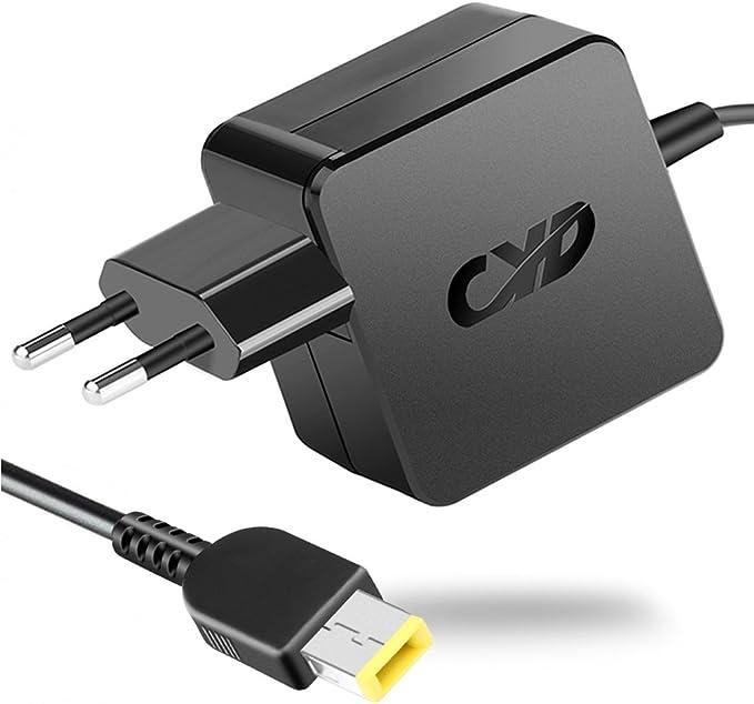 131 opiniones para QYD 65W Cargador Adaptador para Alimentador Portátil Lenovo ThinkPad Yoga 14 15