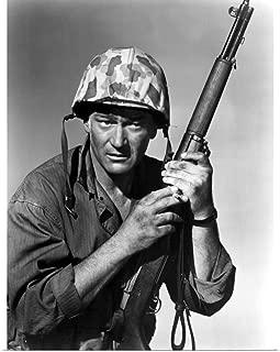 GREATBIGCANVAS Poster Print John Wayne, Sand of Iwo Jima by 27