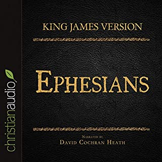 Holy Bible in Audio - King James Version: Ephesians cover art