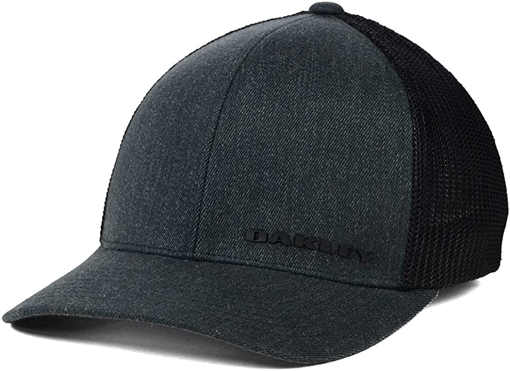 Oakley Tin Can USA Stretch-Fitted Cap