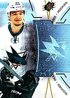 (CI) Kevin Labanc Hockey Card 2016-17 Spx Rookies KL Kevin Labanc