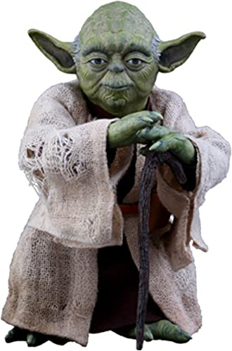 bajo precio Hot Toys Figura de colección Star Star Star Wars Yoda Sixth Scale 1 6 (902738)  envio rapido a ti