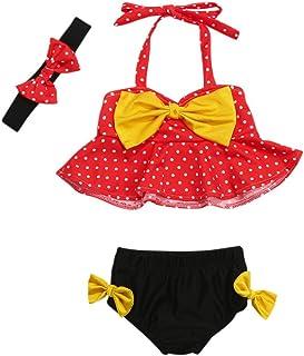 GRNSHTS Baby Girls Bikini Beach Swimsuit Toddler Ruffles Bathing Suit Swimwear Onesie
