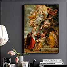 Suuyar Ancient Greek Mythology Mural Canvas Paintings for Bedroom Office Wall Decor..