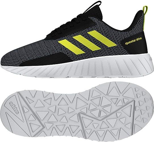 Adidas Questar Drive, Chaussures de Running Compétition Mixte Enfant