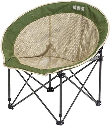 Chaise Longue Ronde Chaise Longue paresseuse Chaise de Jardin Chaise de pêche Chaise de Direction Chaise de Plage Chaise canapé Rond, Portant 100KG (Couleur   vert, Taille   79  44  37cm)