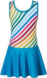Funnycokid Girl's Dance Skirted Leotard Gymnastics Ballerina Ballet Dress 4-9 Years