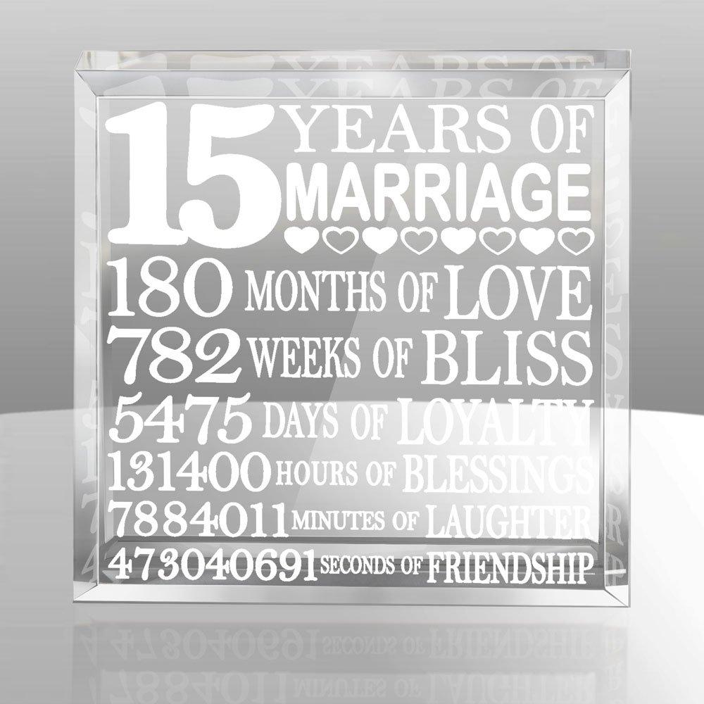 Kate Posh - Fifteen (15) years of Marriage - Our 15th Anniversary Keepsake u0026  sc 1 st  Amazon.com & 15th Anniversary Gifts: Amazon.com