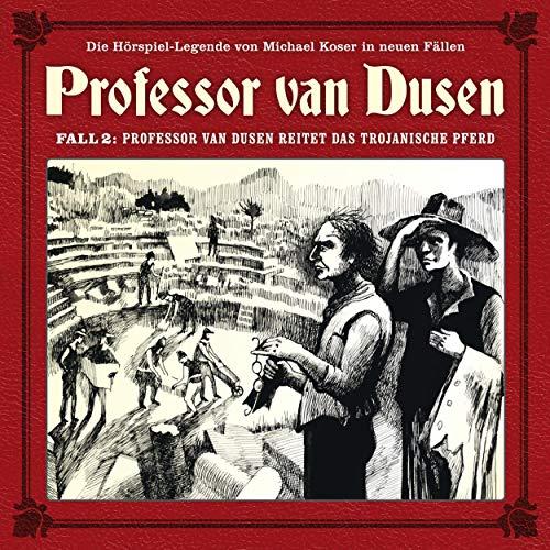 Professor van Dusen reitet das trojanische Pferd cover art