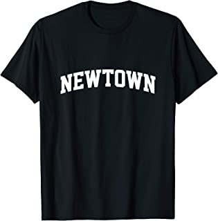 Newtown Vintage Sports Team College Arch T-Shirt