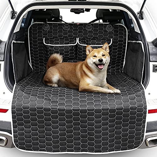 Oasser Kofferraumschutz für Hunde Universal Auto Kofferraum Hundedecke Kofferraumschutzmatte Kofferraumdecke E9-S/L (S)