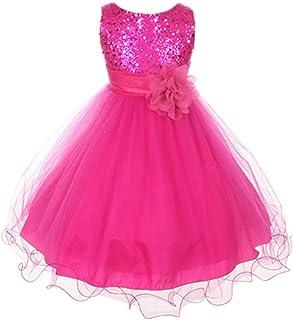 BODYA 子供ドレス 女の子 キッズ ワンピース 可愛い 花柄 スカート結婚式 花嫁介添人 パーティー