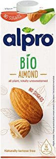 Alpro Drink Bio Almond Unsweetened - 1 liter (Pack of 1)