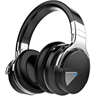 COWIN E7 Active Noise Cancelling Headphones Bluetooth Headphones with Mic Deep Bass Wireless...