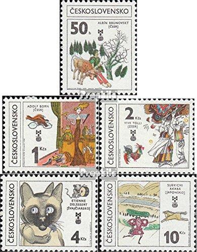 Tchécoslovaquie 2630-2634 (complète.Edition.) 1981 Enfants (Timbres pour Les collectionneurs)