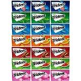 Trident Sugar Free Gum Pack, Variety, 21 Count