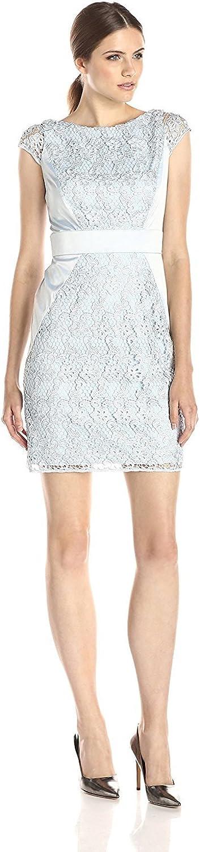 Jessica Simpson Women's Cap-Sleeve Lace Dress